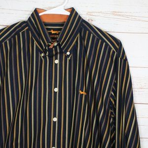 Harmont & Blaine Striped Button Down Shirt XXL
